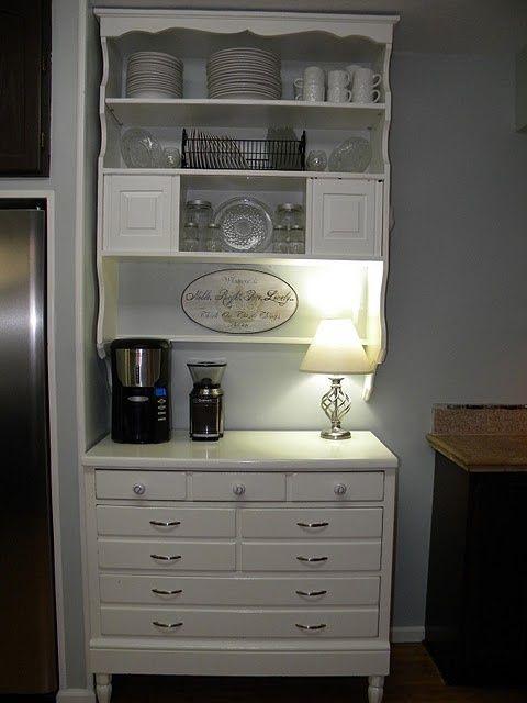 17 best images about dresser remake on pinterest vintage for Kitchen remake ideas