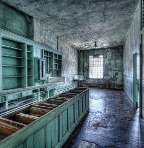 Photo kitchen at Abandoned Alcatraz