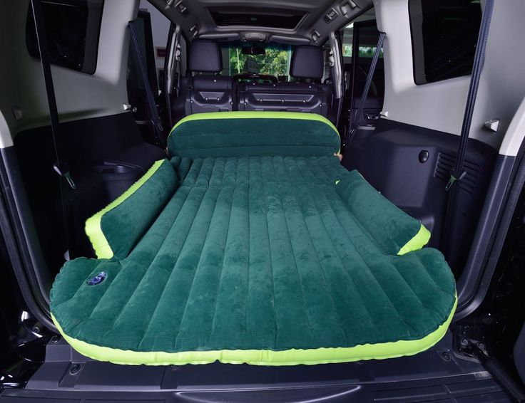 Heading for a camping trip in an SUV? Forget about carrying a separate tent or a sleeping bag if you have the SUV Air Bed.