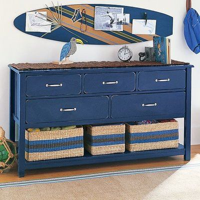 Google Image Result for https://lh5.googleusercontent.com/-CQD115IX1HU/TXdKGDgRb0I/AAAAAAAAG48/D4QDh-X8m9E/dresser-unique-idea-diy-shabby-chic-blue-hallway-design-decor-livingroom-inspiration-idea-beach-house-surf-board-accent.jpg