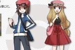 Hai nhân vật chính trong Game Pokemon X and Y! The two main characters in the game Pokemon X and Y! Два главных героя в игре Pokemon X и Y! Die beiden wichtigsten Charaktere im Spiel Pokemon X und Y! Les deux personnages principaux dans le jeu Pokemon X et Y! ゲームポケモンXとYの2つの主要な登場人物!