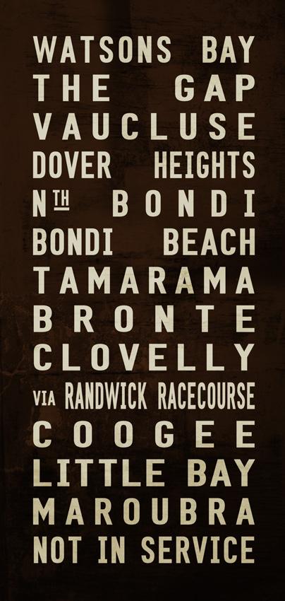 vintage sydney tram scroll