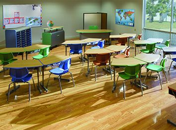 Smith System education seating elementary tables