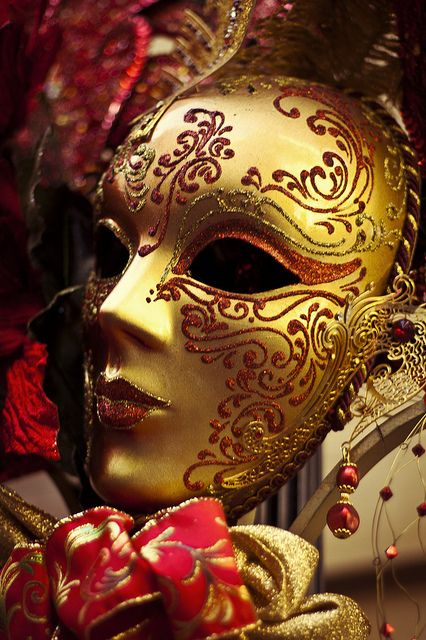 Mardi Gras Mask by iwinatcookie, via Flickr do these myself in different colors would be perfect