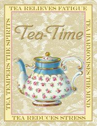 It's true, drinking hot tea has many benefits. It has something in it that relaxes me. The combination of sitting in my gazebo, swaying back & forth in the white wicker rocker having my devotion while drinking hot tea from my little Victorian tea cup & saucer is soooo soothing to me...