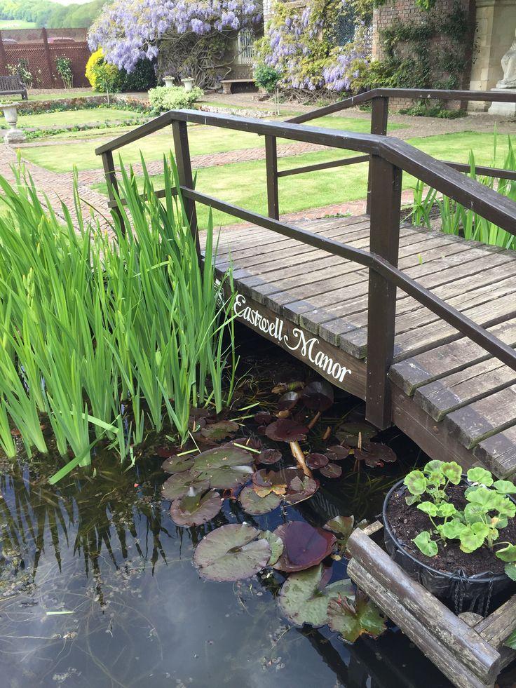 Maid's Garden bridge at Eastwell Manor