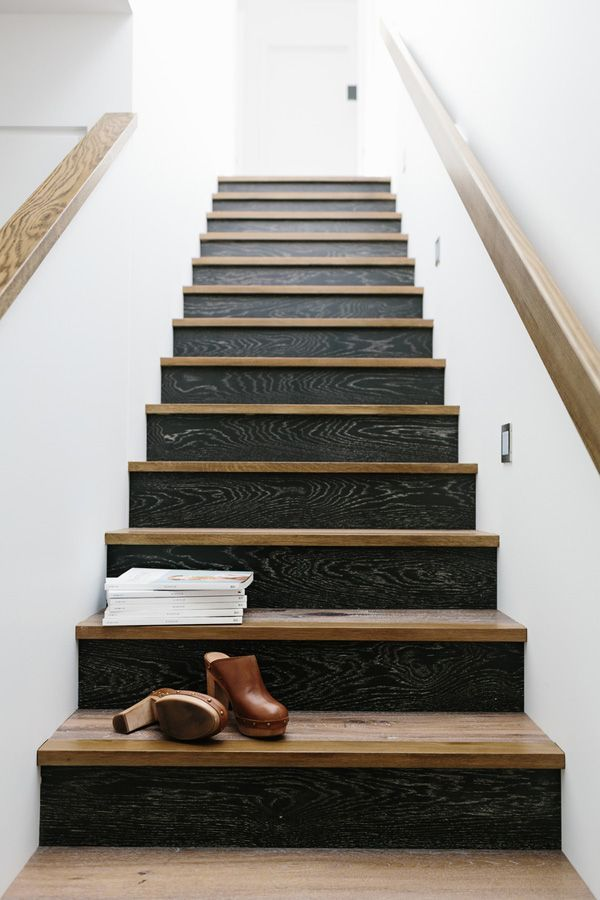 173 best interior design built ins reference images on - Interior stair treads and risers ...