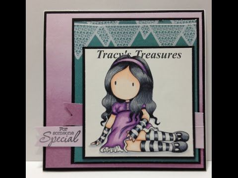 Tracys Treasures: Kristy's 21st Birthday and her card