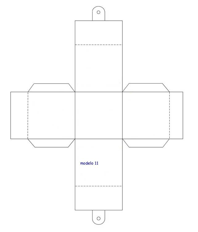 Moldes para hacer Cajas de carton | DIY | Pinterest