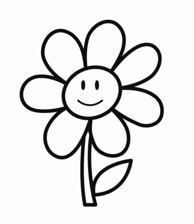Gambar Bunga Hitam Putih Unik Ema Warna Bunga Dan Gambar