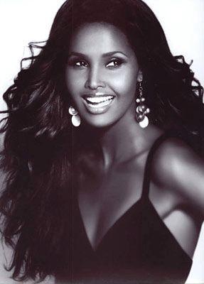Ubah Hassan, supermodels, dark models, african models.