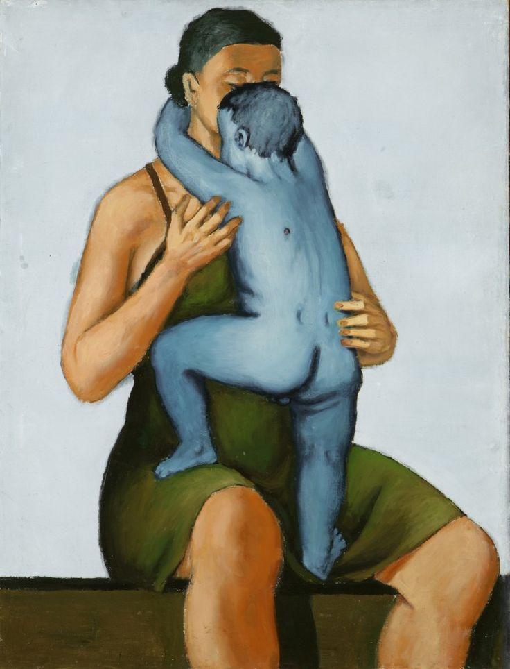 Andrzej Wróblewski - Matka z zabitym dzieckiem, 1949.
