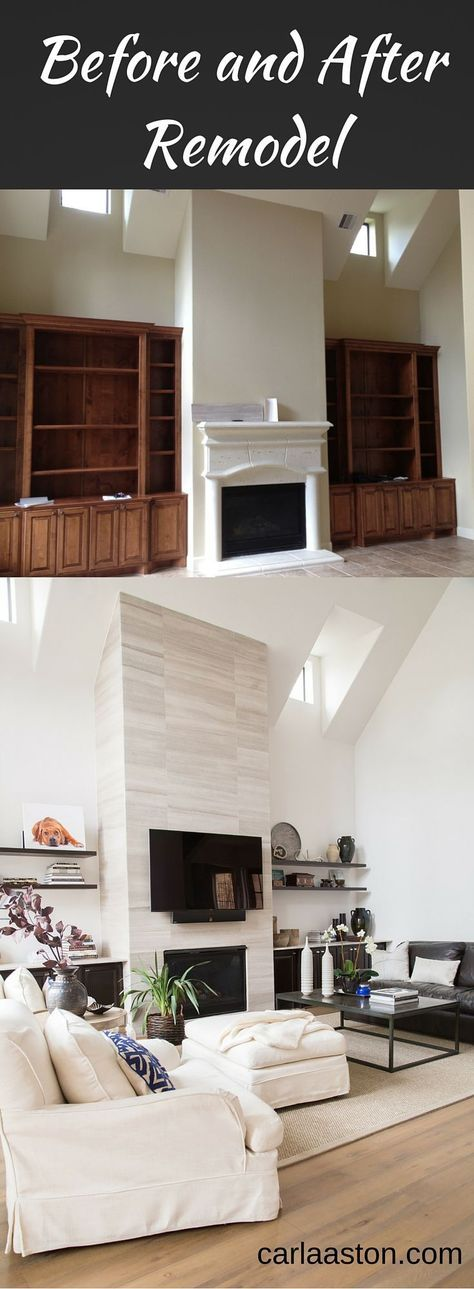 Learn more about >> BEFORE & AFTER: The Extraordinary Rework Of An Odd 'Builder' House!