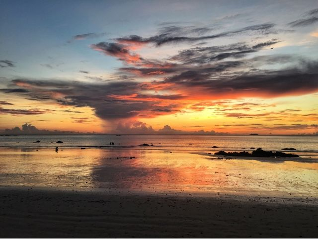 Sunset in Koh Lanta   Thailand //Living in an adventure  Photo by Elina Andstén