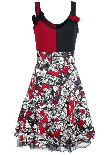 Insanity - Medium-lengte jurk van Harley Quinn