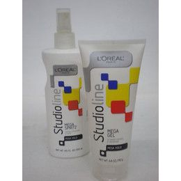 Studio Line by Loreal. The only way to get those big crispy 80's bangs! I used this stuff every day in Jr. high!