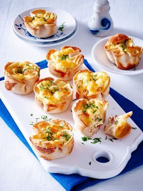 #Muffins in einer Variante, die super# schnell geht: #Toastmuffins! Ideal fürs #Karnevals-Buffet oder deine nächste #Party. Das Rezept gibt's hier.