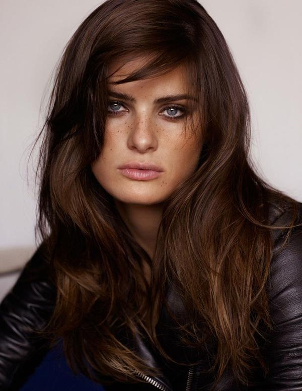 gorgeous brown hair