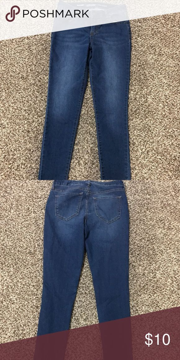 Old Navy Skinny Jeans Worn once size 6 Old Navy Jeans Skinny