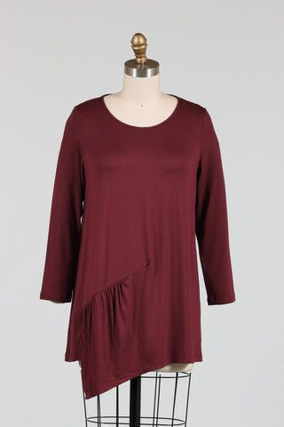 Comfy USA Eva Tunic | LISSA THE SHOP - Chic, Comfortable and conscious fashion for the Mindful Woman LISSA the Shop | www.lissatheshop.com