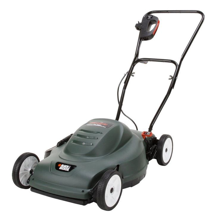 Black & Decker LM175 18-Inch 6-1/2 amp Electric Mower – The Best Corded Electric Lawn Mower for the Money