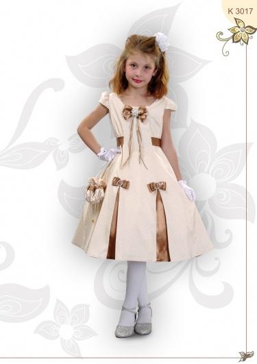 Платье с бантиками :) Платье-атлас с натуральной шелковой нитью, подъюбник, перчатки, сумочка для маленькой принцессы!    http://i-mammy.ru/catalog/noviy-god-2013/Naryadnaya-odezhda/novyij-resurs3.html