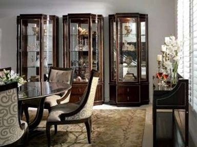 Elite Furniture Gallery Marge Carson NC Furniture Shop For Marge Carson  Tango Display Cabinet, TAN09