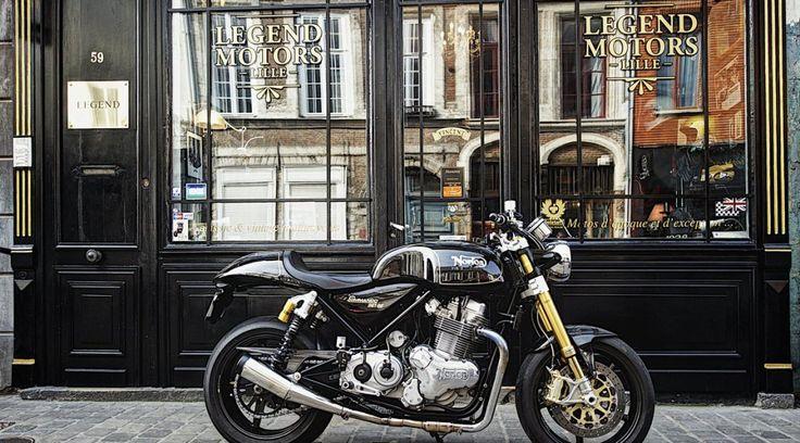 Norton 961 SE 2012, numéro 142, à vendre chez Legend Motors Lille.