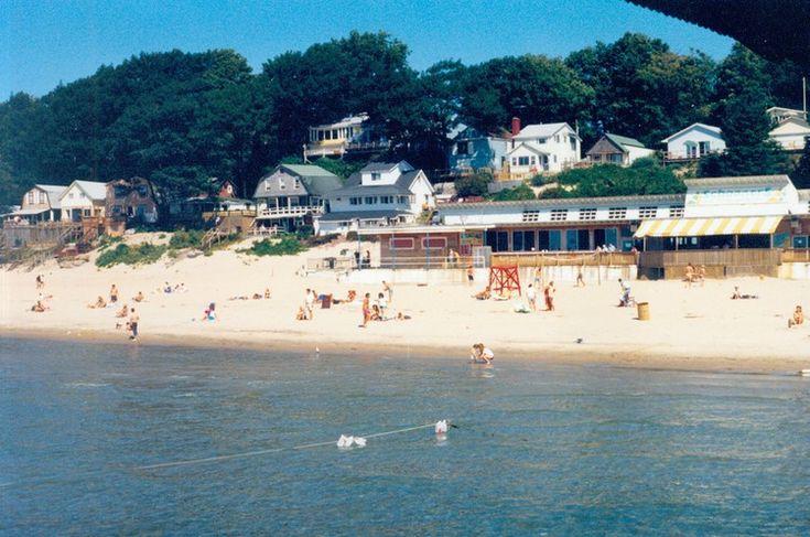 Bathing Beach Crystal Beach Ontario August 1989 photo by Ken Jones Sr.