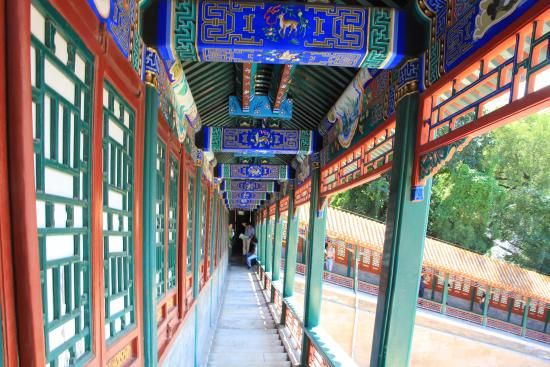 Corridoio del palazzo d'estate | #Pechino #Cina