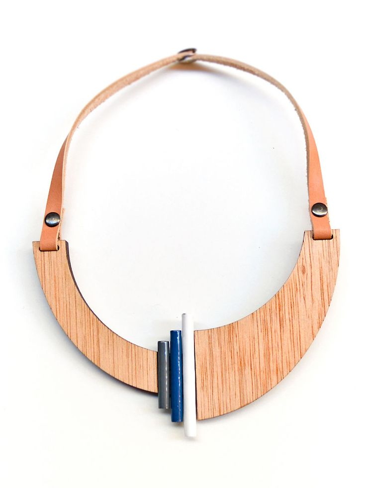 Asymmetric geometric necklace - collar designer  Ioanna Koulouris