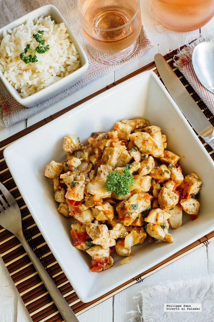 Pollo marinado al comino. Receta fácil para primavera con fotografías del paso a paso y recomendaciones de cómo hacerla. Recetas fáciles de platos con pollo....