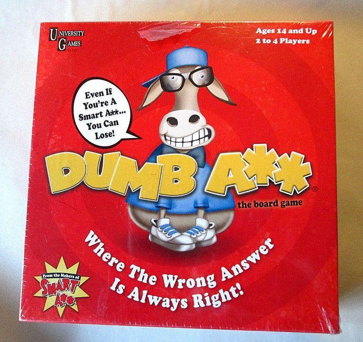 #New Dumb A** ( ASS ) The #BoardGame #University #Games NIB #UniversityGames #funtimes #partygame #familygamenight #entertainment