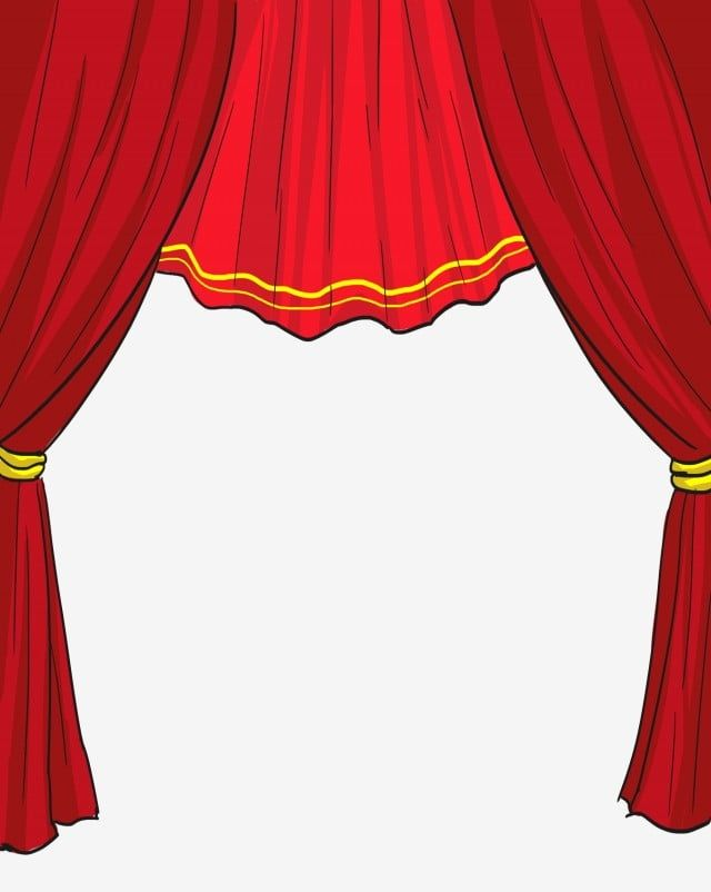 Stage Curtain Stage Clipart Red Decoration Png Transparent Clipart Image And Psd File For Free Download In 2020 Stage Curtains Curtains Clip Art