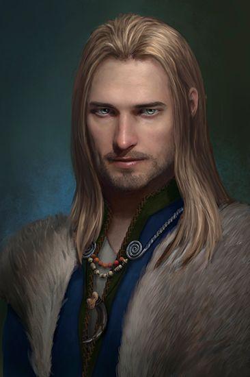 um dos personagens principais (o principe)