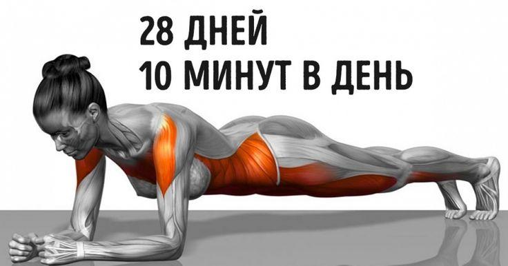 7 упражнений, которые преобразят ваше тело всего за 4 неделиw