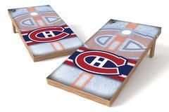 Montreal Canadiens Single Cornhole Board - Wild