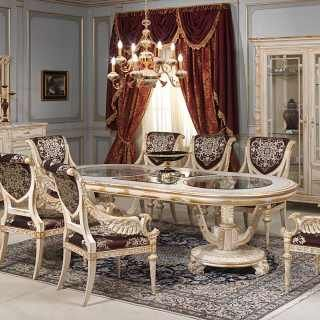 Sala da pranzo e salotto Luigi XVI