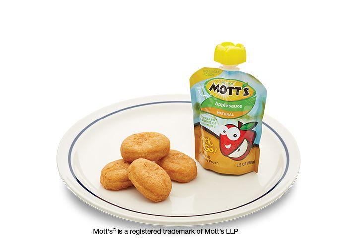 Chicken Nuggets Image Motts applesauce, Kids meals