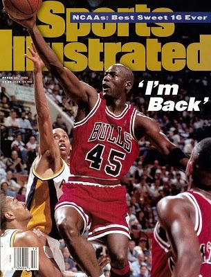 Michael Jordan comes out of early retirement in Feb. 1995