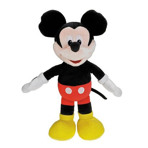 Plush Mickey Mouse That Sings Hot Dog