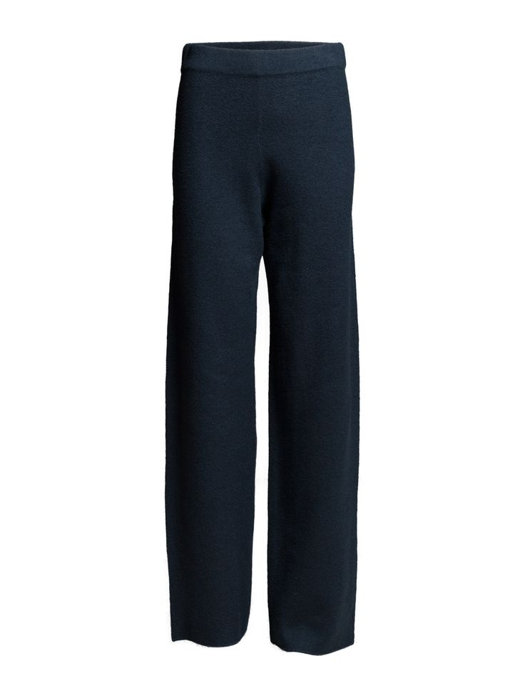 DAY - 2ND Mapi Pants Trousers Wool Navy