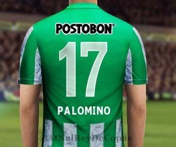 El numero que lucirá el refuerzo Jairo Palomino en el Nacional #17!