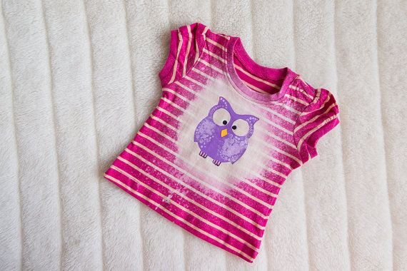 What a Hoot Washed Shirt by BellaBeeB on Etsy