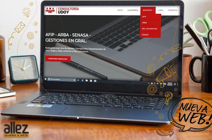 ¡NuevaWeb! 👌👏Nuevo diseño #web para Consultoría Udoy. Ingresá a conocerla 😜 ... http://www.consultoriaudoy.com/