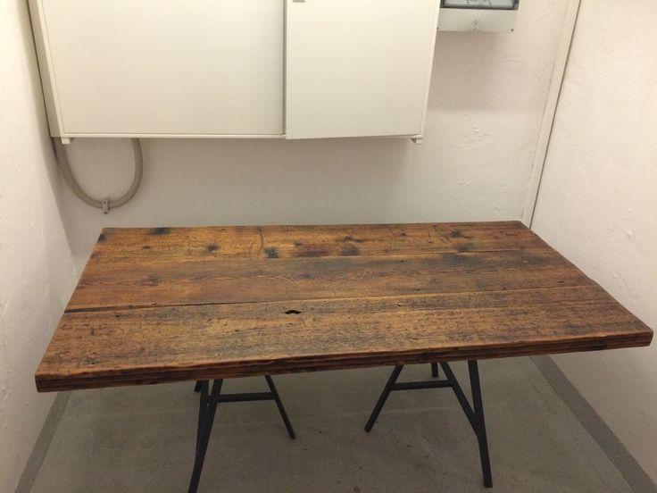 die besten 25 altholz tischplatte ideen auf pinterest altholz tische palettentischplatte und. Black Bedroom Furniture Sets. Home Design Ideas