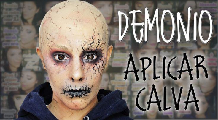Maquillaje demonio y como aplicar calva