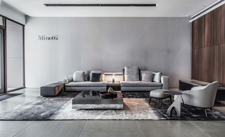 Mobili minotti ~ Design open mdf bookcase dalton by minotti study room