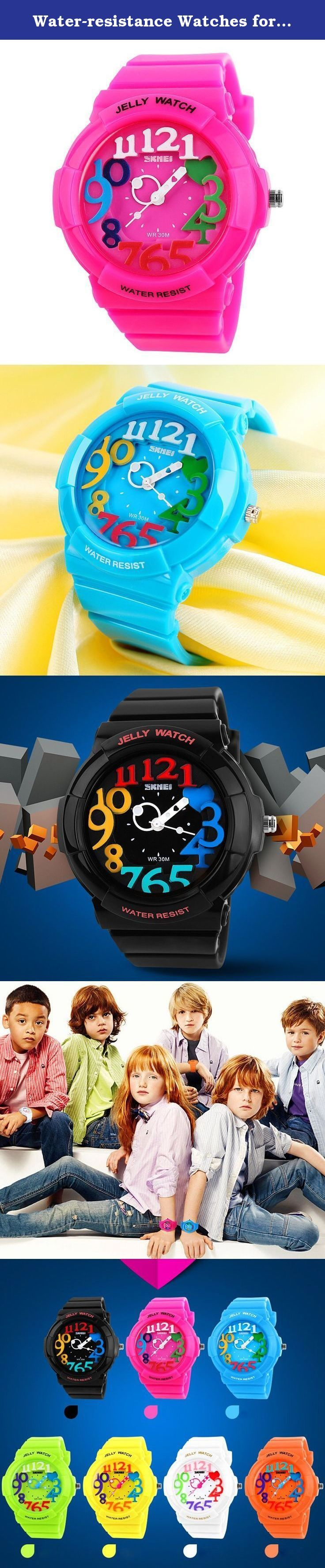 Water-resistance Watches for Children Casual Kids Students Boys Girls Outdoor Sports Watch -Pink. A variety of styles you can choose in our store ! Package Included: 1 x Watch Please Note: 1. Actual color may vary from picture due to computer settings. 2. Find store front of Sunny world, more surprises are waiting for you! Dear Buyer, Thanks for your continuous support to our store, and we are always striving to improve ourselves in terms of service, quality, sourcing, etc. It would be...