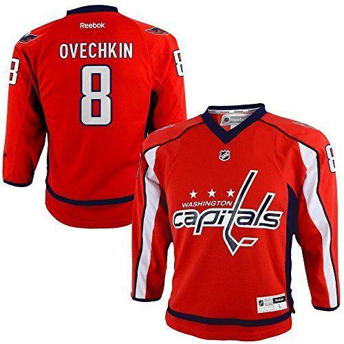 designer fashion f351c a99a4 Alexander Ovechkin Washington Capitals NHL Reebok Toddler ...